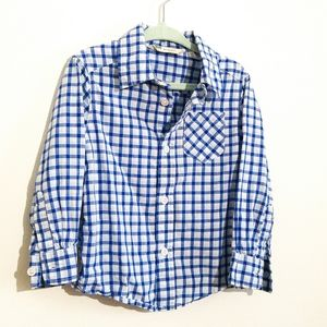 Checkered Toddler Dress Shirt